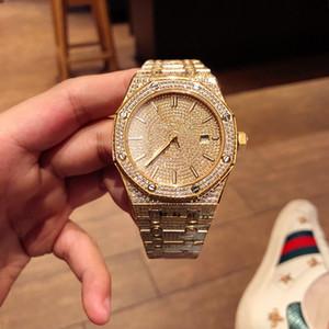 Высокое качество Мужские часы алмазов часы 41мм Montre люксусный 3120 движение автоматические часы Релох де Lujo водонепроницаемый Audemars Piguet ap