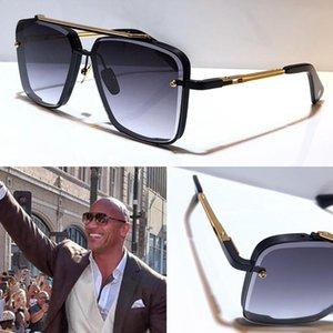 التيتانيوم الرجل مصمم النظارات الشمسية خمر الأزياء الشعبية ساحة نمط الإطار الأشعة فوق البنفسجية 400 عدسة مع القضية الأصلية حقيبة صندوق الأعلى نظارات الجودة