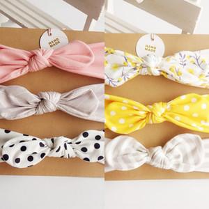 Children's baby 3 band tu Er hair band three-piece set baby hair accessories set bow bow rabbit ear headband