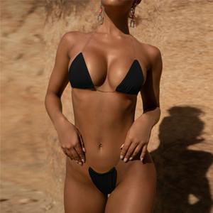 Maikun Brand New Bikini para As Mulheres Da Moda Cor Sólida Praia Dividir Swimsuit 8 Cores 4 Tamanhos