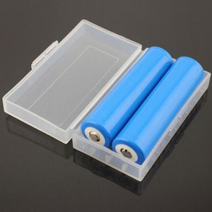 2 * 18650 Battery Holder Caso Cassetta di sicurezza contenitore di immagazzinaggio di plastica in forma di caso Portable 2 * 18650 o 4 * 18350 CR123A 16340 batteria DHL