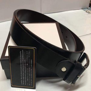 cinghia di affari popolare di modo cinghia calda delle donne degli uomini di qualità progettista del cuoio genuino Cinture pelle bovina per gli uomini con scatola