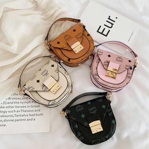 I più nuovi 2020 bambine mini borse da sella Kids Designer borse principessa dei bambini portamonete 4 colori