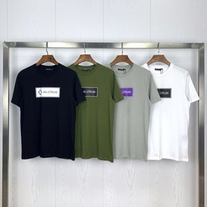 Tide brand new ma.strum simple BOX LOGO printing men and women round neck short sleeve T-shirt