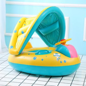 New Baby Swimming Circle Pool Accessories Rings Boy Safe Inflatable Circle Beach Float Carton Children Accessories baby floating