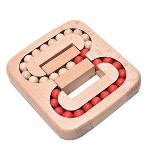 Serratura di legno giocattolo intelligenza Ming Luban serrature tradizionale rompicapo puzzle giocattoli educativi vecchia Cina Ancestral serrature per bambini