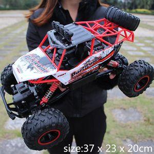 28cm RC 1/16 4WD 4x4 Sürüş Çift Motorlar Sürücü Bigfoot Uzaktan Kumanda Araba Modeli Off-Road Araç Oyuncak MX200414
