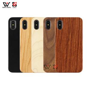 Nuevos productos hermoso grabado láser en blanco de madera TPU de la cubierta del teléfono para el iPhone para el iPhone 7 8