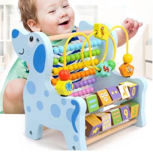 몬테소리 나무로 되는 수학 장난감 다기능 판 장난감 학습 교재 아이들의 교육 장난감