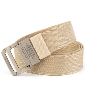 Unisex military nylon belt double ring alloy buckles outdoor sports tactics belts jeans high quality men's canvas belts