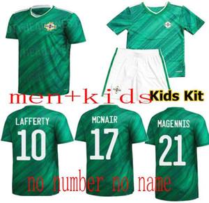 Лучшее качество Северная Ирландия Джерси 19 20 Северная Ирландия Главная Зеленая Футбол Джетки Evans Lewis Davis Wiste Lafferty McNair Футболка