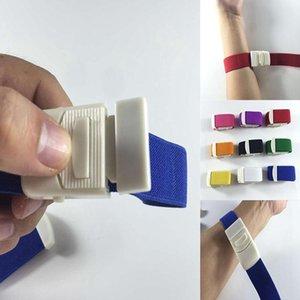 Erste-Hilfe-Verband Mitteilung Medical Sanitäter Sport Notfallstauer Buckle Paracord Elastic Survival Kit-Bänder für Hämostase Easy Use