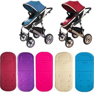Baby Stroller assento Pad algodão macio Car Seat Cushion infantil Criança Cesto Colchão Mat Crianças Carriage Pram Liner Trolley Acessórios