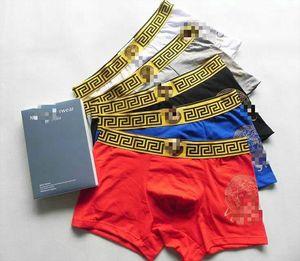 Factory Wholesale Men\'s Sexy Underwear Men Quality Boxers Pure Cotton Breathable Underpants Men\'s Casual Boxer 5