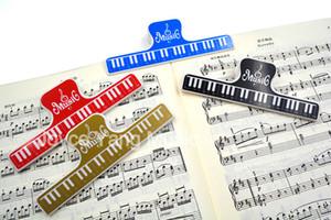 Niko Music Book Note Paper Ruler Partitions Holder Clip Spring For Piano Guitare Violon Alto Violoncelle Performance Practice