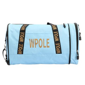 Packable Sports Gym Bag com Shoes Compartimento e Wet bolso - leve e durável - selecionar cores