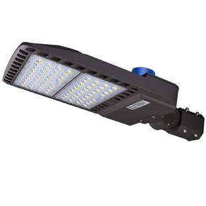 الأسهم الولايات المتحدة أضواء LED وقوف السيارات لوط 300W 200W 150W 100W LED ستريت بوليوود أضواء الشوارع لاعبا اساسيا مع الكهروضوئية 5000K IP65