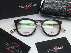 Новинка бренд-дизайнер чартер 19918 титановые очки ретро оправа по рецепту очки ретро оптические очки мужские очки