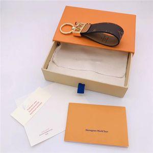 Keychain Key Chain & Key Ring Holder Brand key chain Porte Clef Gift Men Women Souvenirs Car Bag with box