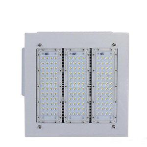 Hot LED Floodlights Canopy Light 50W 100W 150W 200W High Bay Light Recessed Mounted For GAS Station Light AC 85-277V 5 years warranty