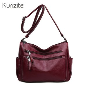 2019 new leather handbags women bags ladies daily crossbody messenger bags party shoulder purse sac a main