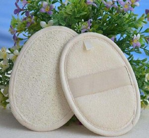 Baño esponja vegetal Facial Pads natural esponja vegetal disco de maquillaje Quitar exfoliante facial esponja vegetal cojín tamaño pequeño Luffa Loofa