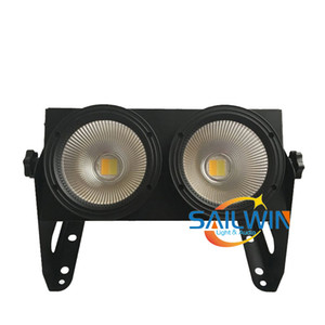Sailwin luce della fase economico 2x100W 200W COB 2in1 warmwhite / coolwhite Pubblico LED dei paraocchi LED Theatre Studio Luci