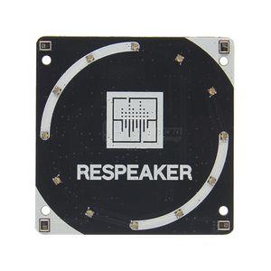 Freeshipping Raspberry Pi Speaker ReSpeaker AC108 4-Mics (Microfono) Scheda espansione array per Raspberry Pi 3 Modello B +, 3B, Zero, Zero W