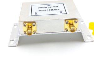 2 طرق معزز SMA Power Splitter (380-2500MHz) معزز مقسم الطاقة SMA