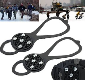 Nuevo Ice Snow Ghat antideslizante Spikes Shoes Boots Grippers Crampon Walk Tacos Envío Gratis