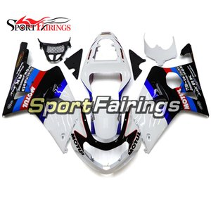 Complete Motorcycle Fairing Kits For Suzuki GSXR1000 K1 K2 2000 2001 2002 GSXR1000 00 01 02 Injection ABS Plastic Body Work White Blue Black