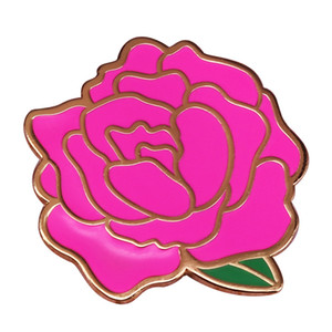 Яркие радужные штыря великолепные цветы брошь женщины довольно аксессуар подарок на День святого Валентина