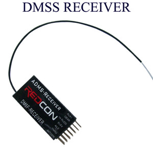 DM6F MICROLITE 6CH DMSS Receiver 6 Channel ADMS Receivers for JR XG6 XG7 XG8 XG11 XG14 Transmitter radio