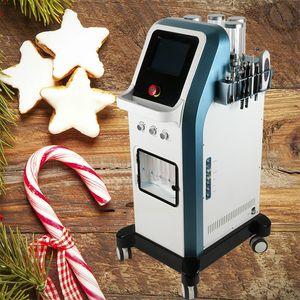 Tecnología 7 en 1 8 bar chorro de oxígeno cáscara agua dermabrasion hidra facial microcorriente hidra dermabrasion inyector de oxígeno máquina spa