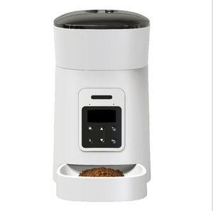 Pet feeder automatic intelligent feeder cross-border timing quantitative 5L new surplus food alarm feeder