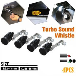 4PCS Turbo suono Simulator Whistle tubo di scarico Strumenti oversize Roar Maker Car Auto Tubo di scarico forte Whistle suono Maker # G10
