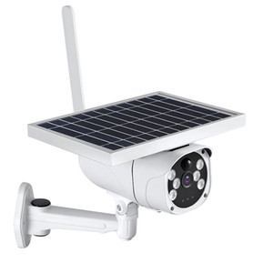 6W 태양 전지 패널 낮은 전력 소비 1080P HD 4G SIM 카드 방수 적외선 빛 양방향 오디오 CCTV 실외 감시 무선 IP는 온