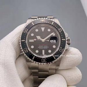 Лавочник Рекомендовать Asia 2813 Движение 126600 43 мм Стальные Часы Черный циферблат AMP Автоматические мужские часы