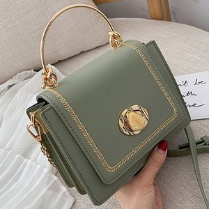 Solid color Leather Mini Crossbody Bags For Women 2020 Summer Messenger Shoulder Bag Female Travel Phone Purses and Handbags CX200529