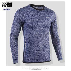 T-shirt à manches longues pour hommes T-shirts pour hommes à séchage rapide Sport Shirt Snake Gym Vêtements de sport Fitness Haut Hommes Rashgard Soccer Jersey