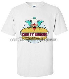 CAMISA o palhaço Krusty KRUSTY BURGER T-shirt SMALLMEDIUMLARGEXL