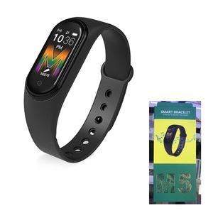 Smart Montre M5 Smart Bracelet avec caméra Bluetooth Appel d'activité Écran Smartwatch Fitness Tracker coloré Sport Regarder Meilleur Choisissez VS M4