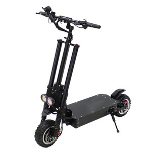 NANROBOT New 11inch most powerful folding 60V 3600W dual motor off road electric scooter for adult
