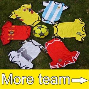 bebê camisa Copa do Mundo do bebê de Futebol camisa do bebê 6-18 meses BB fãs de futebol camisa topo