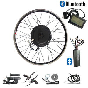 CSC 20-29 pouces vélo électrique Ebike Conversion Kit 48V 500W brushless Gearless Hub Motor Wheel Kit ebicycle wi KT LCD 3 écran + bluetooth