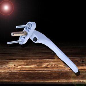 UPVC Fenstergriff Schlüsselverriegelung Für Doppelverglasung Aluminiumlegierung Griff Drehgriff
