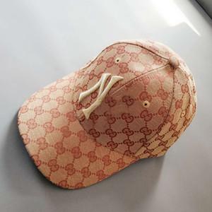 2020 Street Fashion GG Cap 2 логотипа Вышивка бейсболке Летний Открытый Спорт Необходимость Конструктор Шляпы Бесплатная доставка