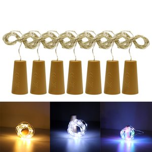 30leds led Wine bottle string Copper wire light Christmas Outdoor Party decoration Corks DIY Night Lamp waterproof