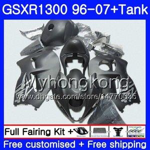 + Бак для SUZUKI GSXR1300 GSXR1300 96 97 98 99 00 01 333HM.81 Hayabusa GSX-R 1996 1997 1300 1998 1999 2000 2001 2007 Матовый черный обтекатели