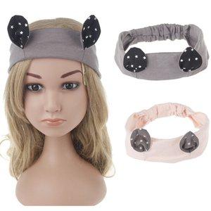 Orelhas crianças Headbands gato Envoltório principal largas bandas de cabelo acessórios para mulheres Kids Acessórios